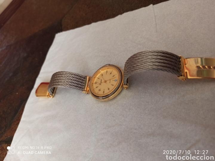 Vintage: Reloj Vogue calendario cuarzo nuevo sin estrenar funciona perfecto - Foto 5 - 211276451