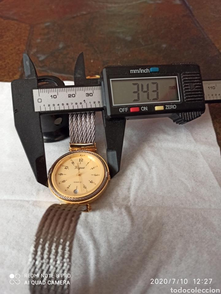 Vintage: Reloj Vogue calendario cuarzo nuevo sin estrenar funciona perfecto - Foto 6 - 211276451