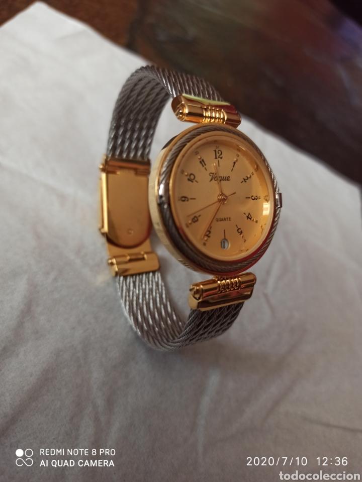 Vintage: Reloj Vogue calendario cuarzo nuevo sin estrenar funciona perfecto - Foto 8 - 211276451