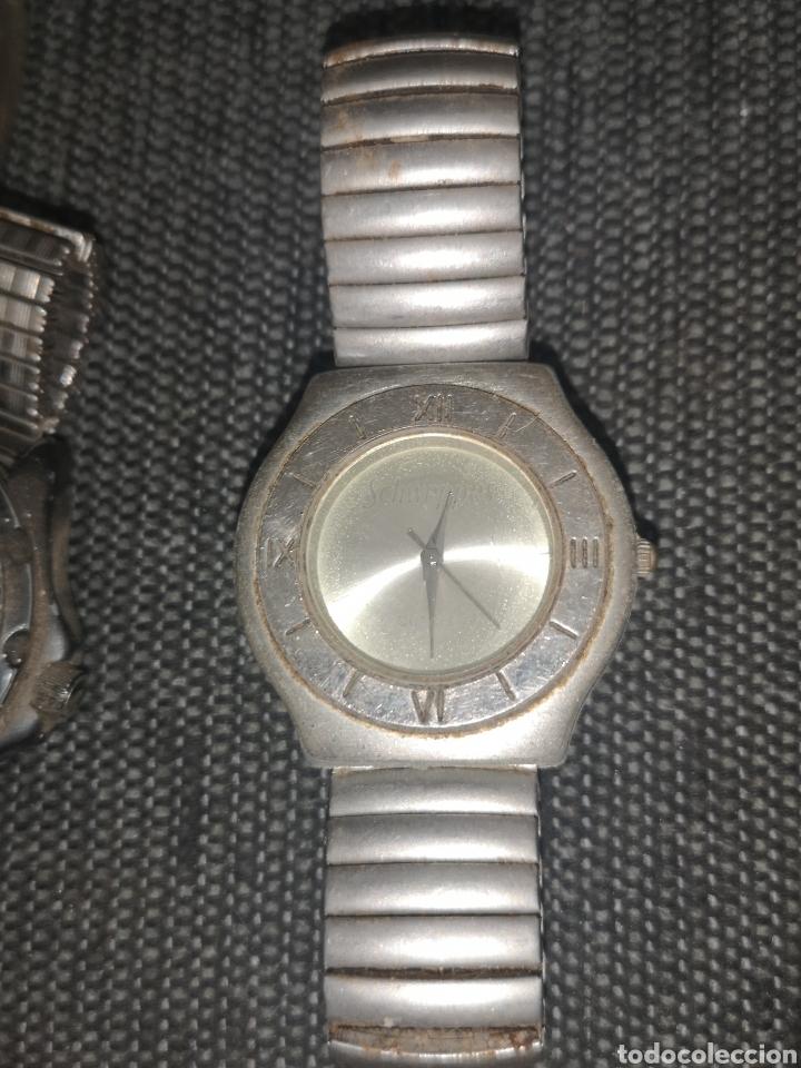 Vintage: Lote relojes publicitarios, dyc, Schweppes..., - Foto 2 - 211481197