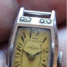 Vintage: ANTIGUO RELOJ SEÑORA. WB.. MUY RARO...15 JEWELS 3 ADJ. . WB. . SWISS MADE. SUIZO. Lote 211503775