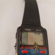 Vintage: CASIO GAME WATCH G-17 SPACE HERO TIPO NINTENDO. Lote 211556797