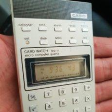Vintage: CASIO CARD WATCH COMPUTER VINTAGE. Lote 211574882