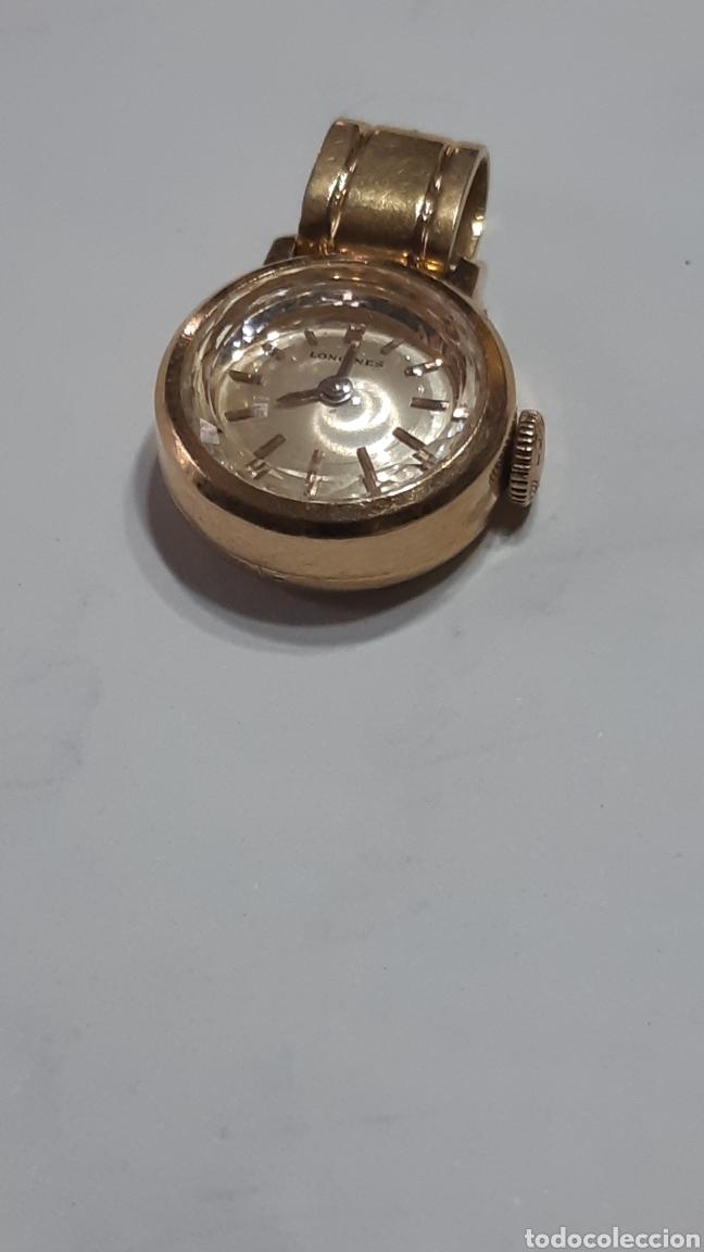 COLGANTE RELOJ DE ORO 18 K MARCA LONGINES (Relojes - Relojes Vintage )