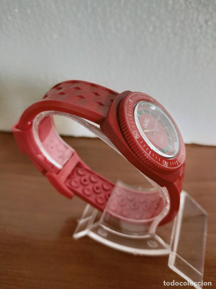 Vintage: Reloj señora de cuerda (Vintage) Control caja de resina dura 17 rubís con maquinaria Suiza incabloc. - Foto 6 - 213259395