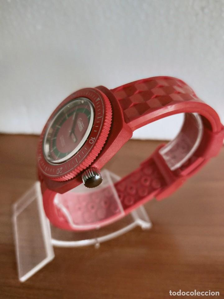 Vintage: Reloj señora de cuerda (Vintage) Control caja de resina dura 17 rubís con maquinaria Suiza incabloc. - Foto 7 - 213259395