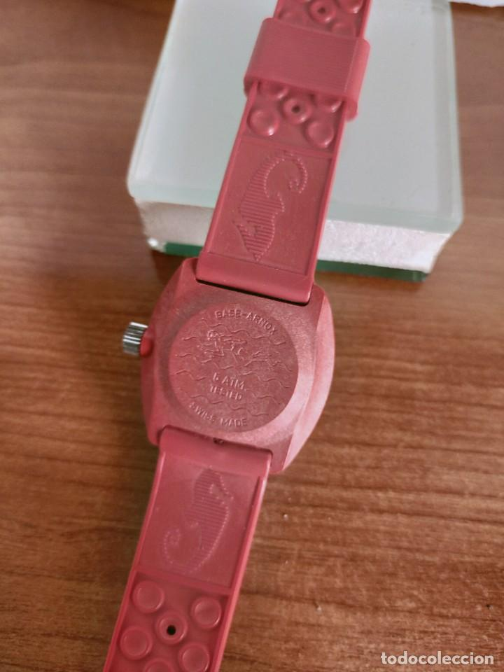Vintage: Reloj señora de cuerda (Vintage) Control caja de resina dura 17 rubís con maquinaria Suiza incabloc. - Foto 10 - 213259395