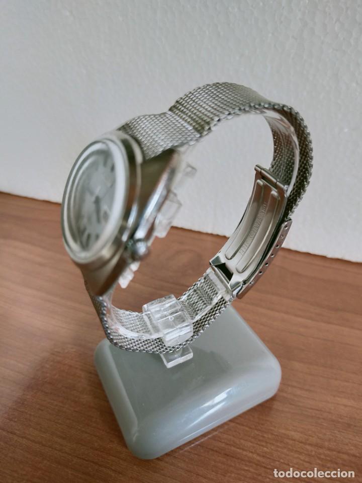 Vintage: Reloj caballero (Vintage) CITIZEN automático 28 rubis con calendario, correa acero original. - Foto 7 - 213157641
