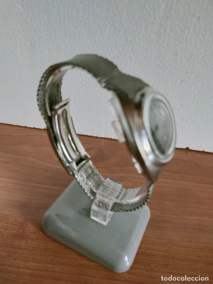 Vintage: Reloj caballero (Vintage) CITIZEN automático 28 rubis con calendario, correa acero original. - Foto 8 - 213157641
