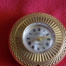 Vintage: RELOJ COLGANTE MARCA SONIA. Lote 213946012