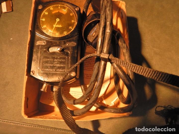 Vintage: Cronómetro antiguo hanhart para control de la electricidad - Foto 8 - 214278897