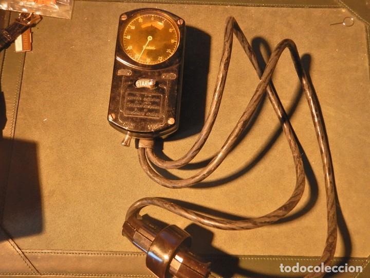 CRONÓMETRO ANTIGUO HANHART PARA CONTROL DE LA ELECTRICIDAD (Relojes - Relojes Vintage )