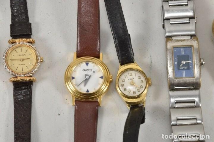 Vintage: GRAN COLECCION RELOJES DE PULSERA Junghans, prätina ETC - Foto 4 - 214949982