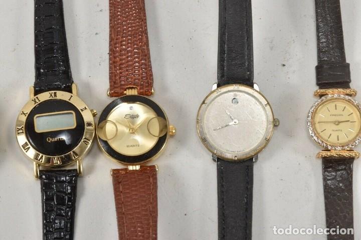 Vintage: GRAN COLECCION RELOJES DE PULSERA Junghans, prätina ETC - Foto 8 - 214949982