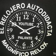 Vintage: MAGNIFICA CAMISETA RELOJERA MOTERA PARA LOS AMANTES DE LA RELOJERÍA Y DEL RELOX. Lote 215087763