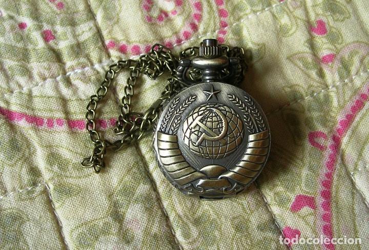RELOJ DE BOLSILLO RETRO DE CCCP URSS - UNION SOVIETICA COMUNISTA . RUSIA. MILITAR (Relojes - Relojes Vintage )