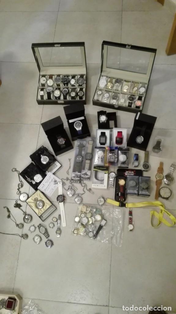 OPORTUNIDAD!!! ENORME LOTE DE RELOJES (Relojes - Relojes Vintage )