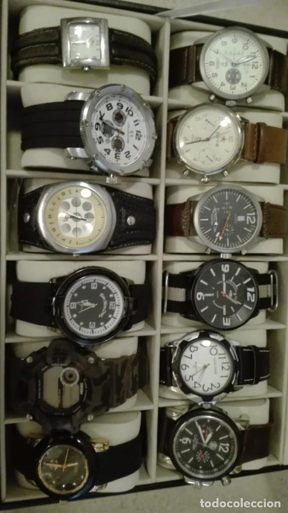 Vintage: Oportunidad!!! Enorme lote de relojes - Foto 2 - 216373031