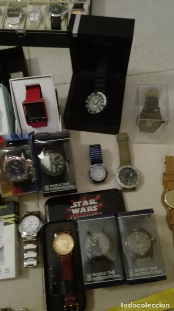 Vintage: Oportunidad!!! Enorme lote de relojes - Foto 7 - 216373031