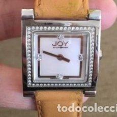 Vintage: RELOJ JOY BY JOY TAKER J515, BRILLANTES. Lote 216614980