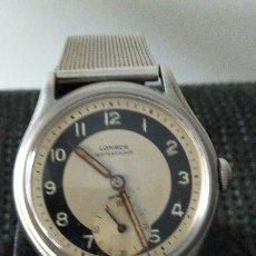 Vintage: RELOJ LOMBER SWISS BULLEYE 17 JEWELS. Lote 217051050