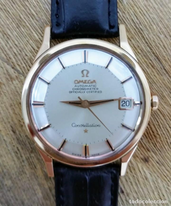 Vintage: Omega Constellation Pie Pan Oro Macizo 18kilates - Foto 1 - 217163681