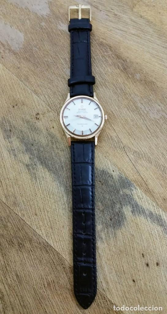 Vintage: Omega Constellation Pie Pan Oro Macizo 18kilates - Foto 3 - 217163681