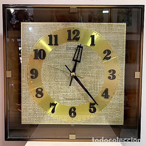 SEIKO, RELOJ ELÉCTRICO A BATERÍA. (Relojes - Relojes Vintage )