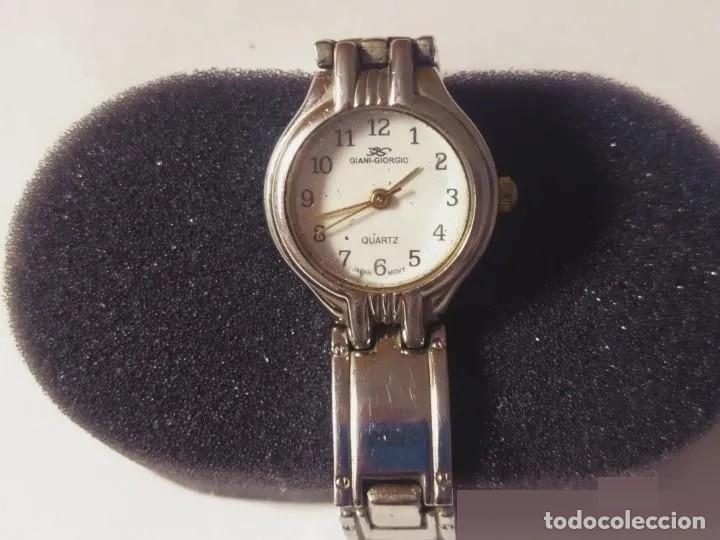 ELEGANTE RELOJ VINTAGE DE PULSERA GIORGIO-GIANI , QUARZ. CORREA ORIGINAL. (Relojes - Relojes Vintage )