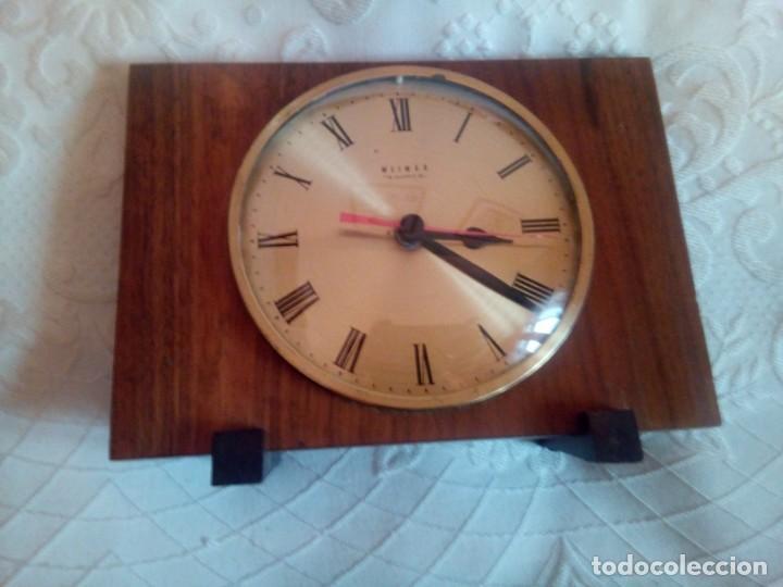 RELOJ ALEMAN WEIMAR DE MESA (Relojes - Relojes Vintage )