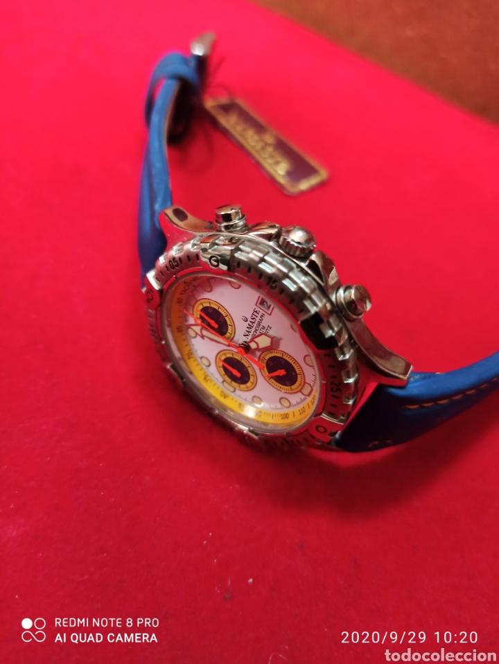 Vintage: Reloj NAMASTER CRONÓGRAFO CALENDARIO NUEVO SIN ESTRENAR FUNCIONA PERFECTO LLEVA LA PILA NUEVA DE CAL - Foto 2 - 219156862