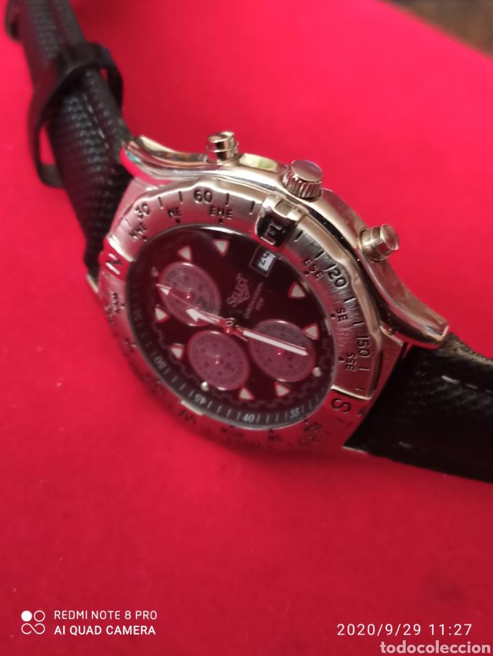 Vintage: Reloj SELECT CRONÓGRAFO CALENDARIO CUARZO NUEVO SIN ESTRENAR FUNCIONA PERFECTO LLEVA LA PILA NUEVA - Foto 2 - 219167046
