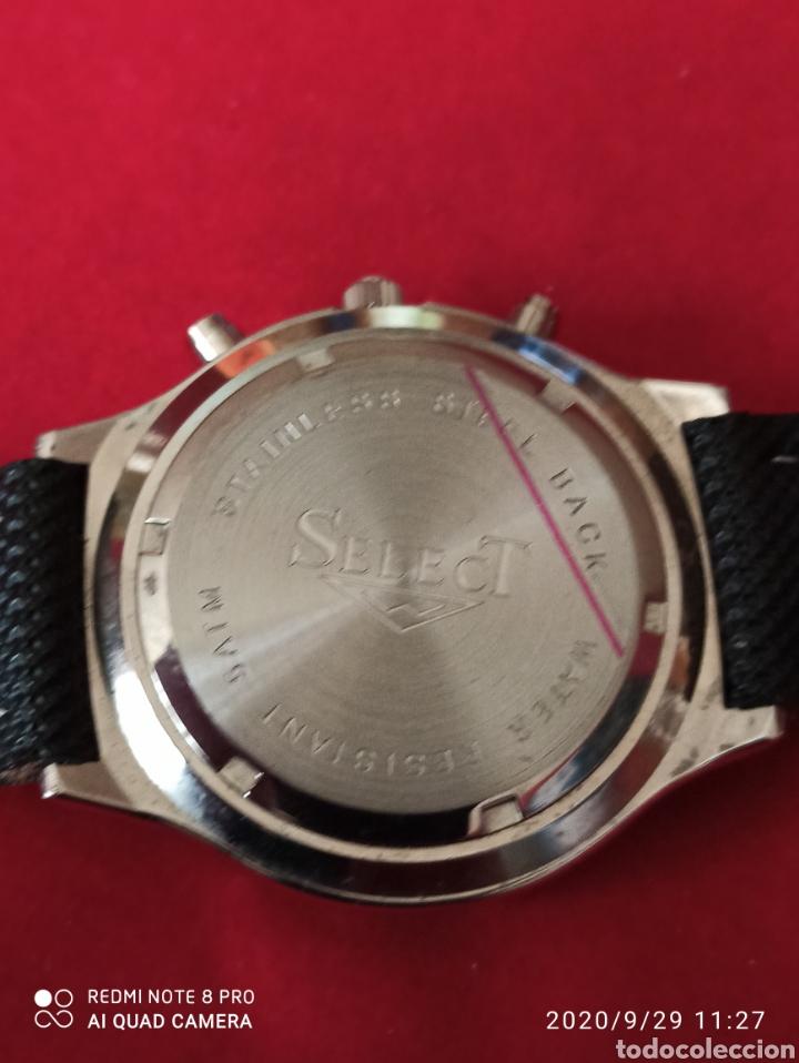 Vintage: Reloj SELECT CRONÓGRAFO CALENDARIO CUARZO NUEVO SIN ESTRENAR FUNCIONA PERFECTO LLEVA LA PILA NUEVA - Foto 3 - 219167046