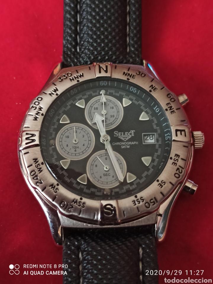 RELOJ SELECT CRONÓGRAFO CALENDARIO CUARZO NUEVO SIN ESTRENAR FUNCIONA PERFECTO LLEVA LA PILA NUEVA (Relojes - Relojes Vintage )