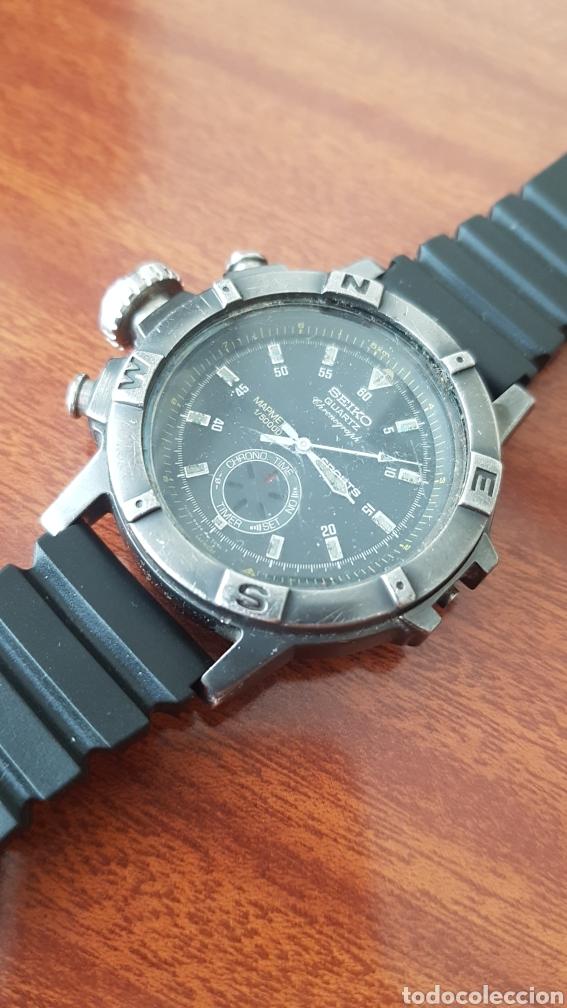 Vintage: Reloj Seiko Chronograph - Foto 2 - 219169127