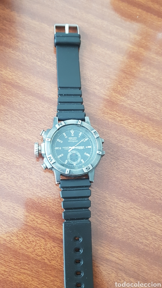 Vintage: Reloj Seiko Chronograph - Foto 3 - 219169127