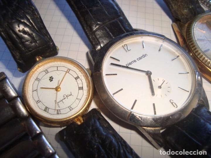 Vintage: lote variado de relojes de pulsera de quartz - Foto 2 - 219172077