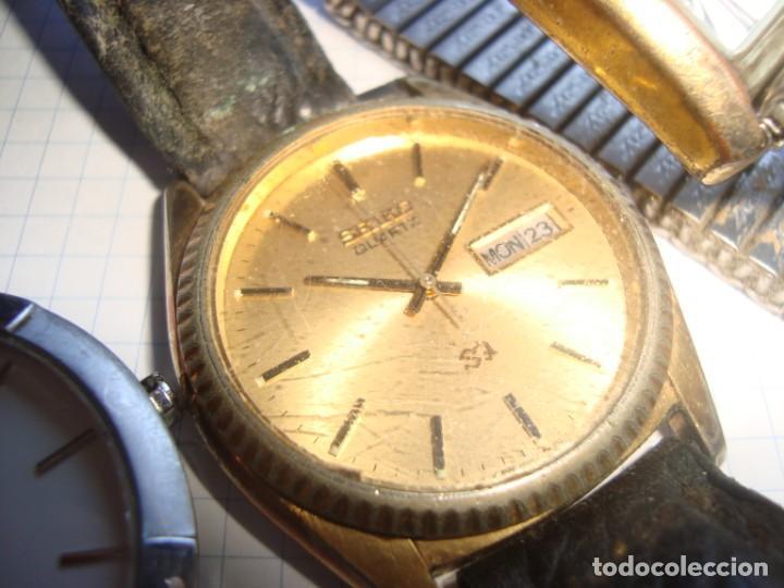 Vintage: lote variado de relojes de pulsera de quartz - Foto 4 - 219172077