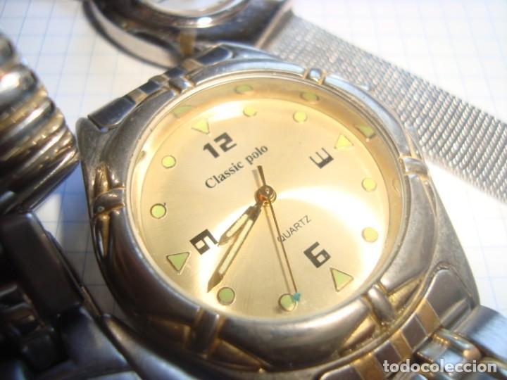 Vintage: lote variado de relojes de pulsera de quartz - Foto 5 - 219172077