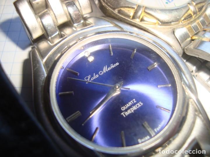 Vintage: lote variado de relojes de pulsera de quartz - Foto 6 - 219172077