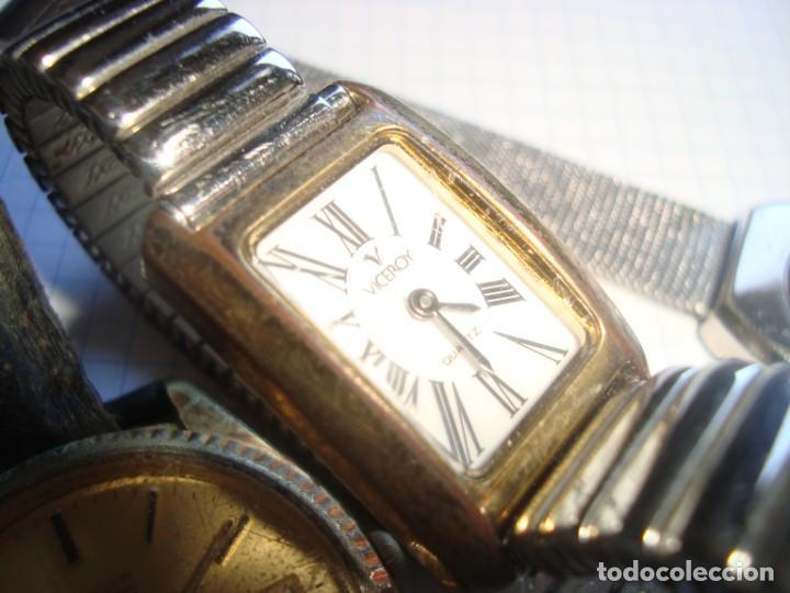 Vintage: lote variado de relojes de pulsera de quartz - Foto 7 - 219172077