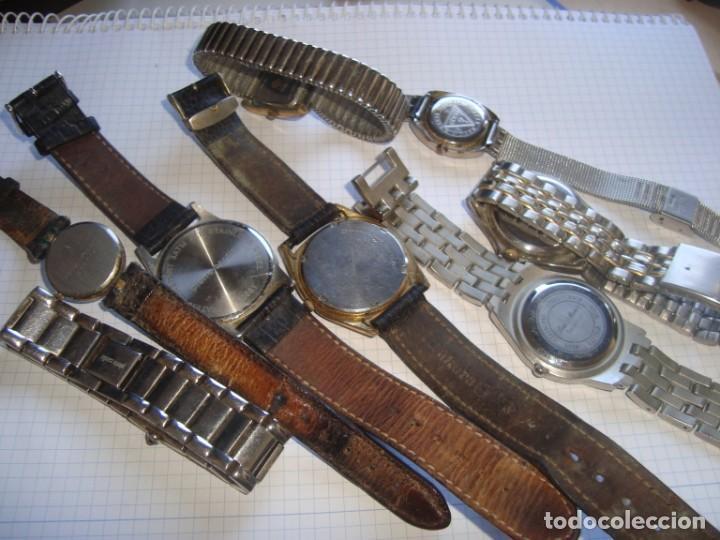 Vintage: lote variado de relojes de pulsera de quartz - Foto 9 - 219172077