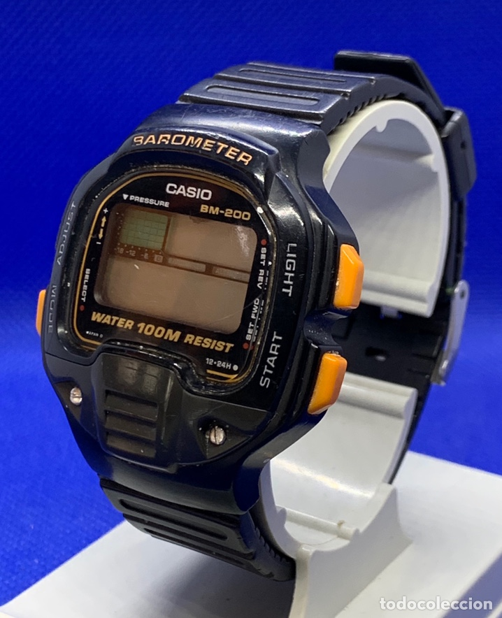 Vintage: Reloj Casio BM-200W japan a reparar - Foto 2 - 219184282