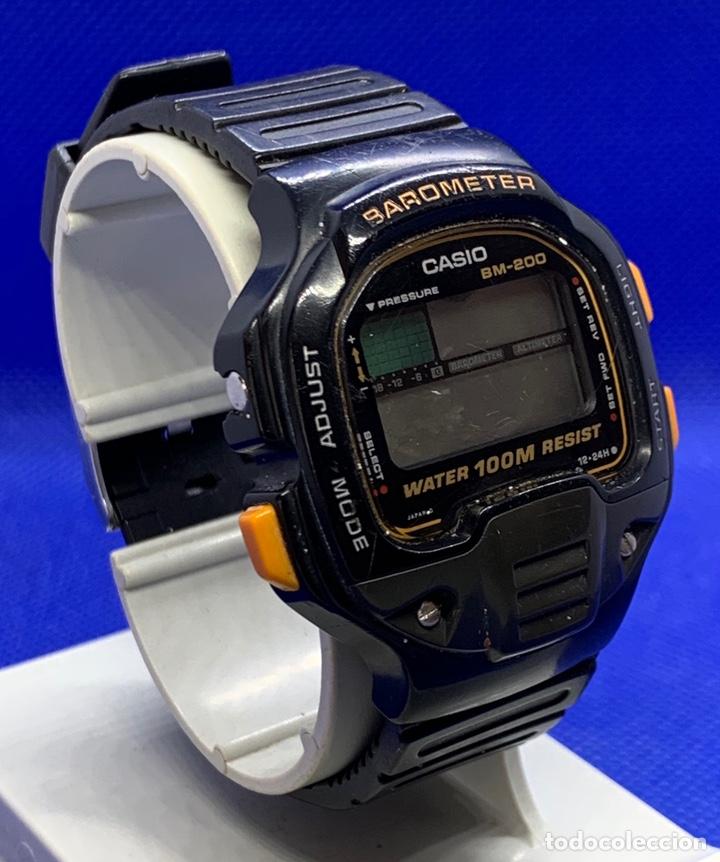 Vintage: Reloj Casio BM-200W japan a reparar - Foto 3 - 219184282