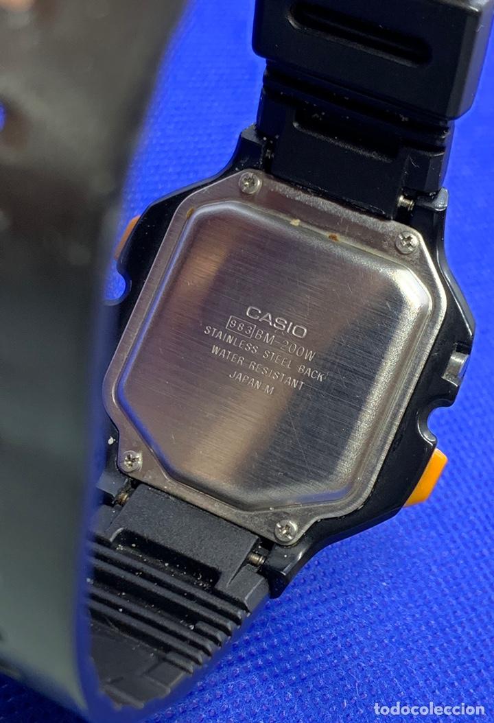 Vintage: Reloj Casio BM-200W japan a reparar - Foto 6 - 219184282