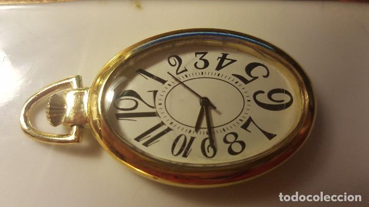 RELOJ OVALADO COLOR ORO (Relojes - Relojes Vintage )