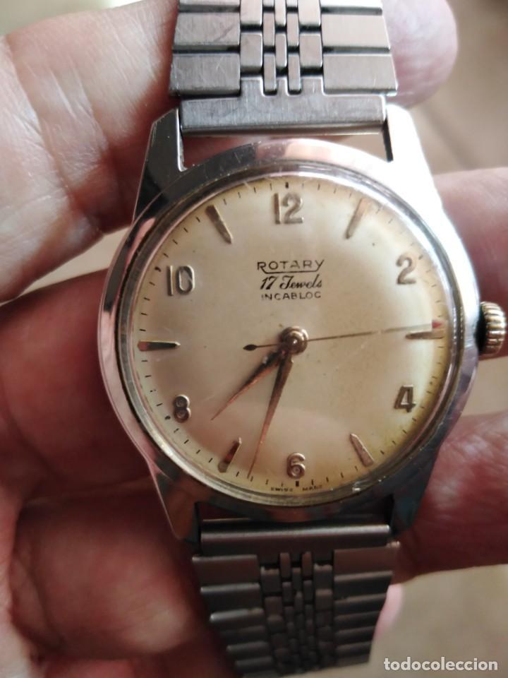BONITO RELOJ ROTARY 17 JOYAS SUIZO AÑOS 60. (Relojes - Relojes Vintage )