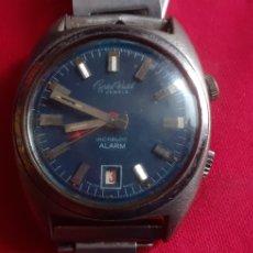 Vintage: RELOJ CRISTAL WATCH ALARMA MIDE 34 MM . NO VA. Lote 219876590