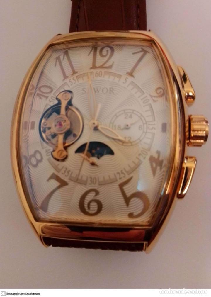 RELOJ PULSERA MECANICO ..ESTILO FRANK MULLER (Relojes - Relojes Vintage )