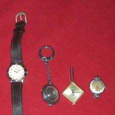 Vintage: LOTE DE 4 RELOJES. Lote 221631530